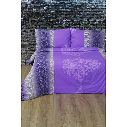 Постельное белье Lotus Ranforce - Chris лиловый семейное, фото 2