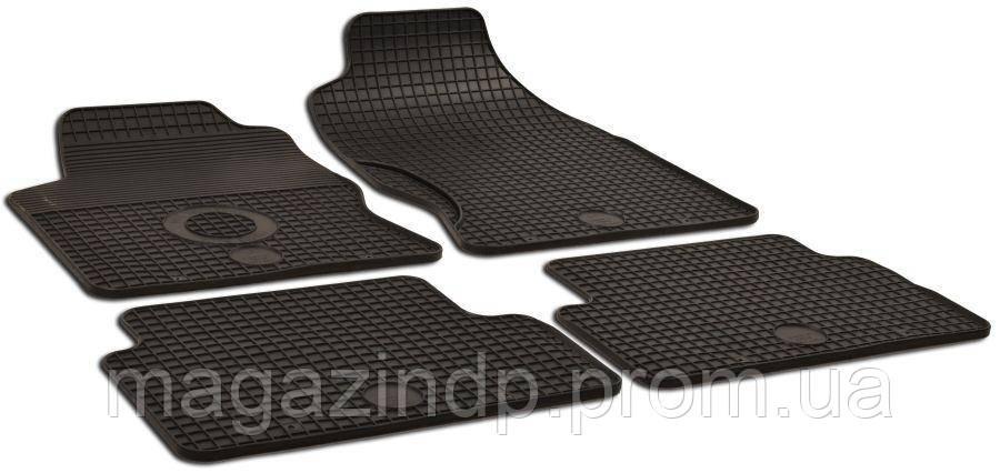 Коврики в салон для Ford Focus 2001-2006 черный 4шт GZ 156026539 Код товара: 3822660