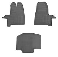 Коврики в салон для Ford Transit Custom 12- /Tourneo Custom 12- (комплект - 3 шт) 1007113 Код товара: 3822697, фото 1