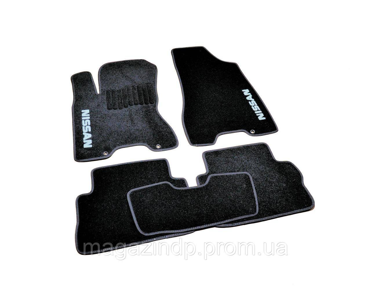 Коврики в салон ворсовые для Nissan X-Trail T31 (2007-2014) /Чёрные, кт. 5шт BLCCR1433 Код товара: 3822703
