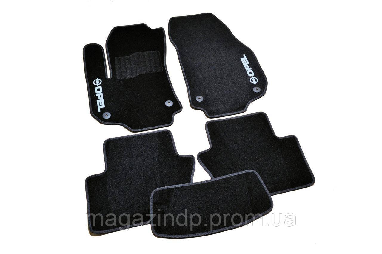 Коврики в салон ворсовые для Opel Zafira B (2005-2012) /Чёрные 5шт BLCCR1460 Код товара: 3822717