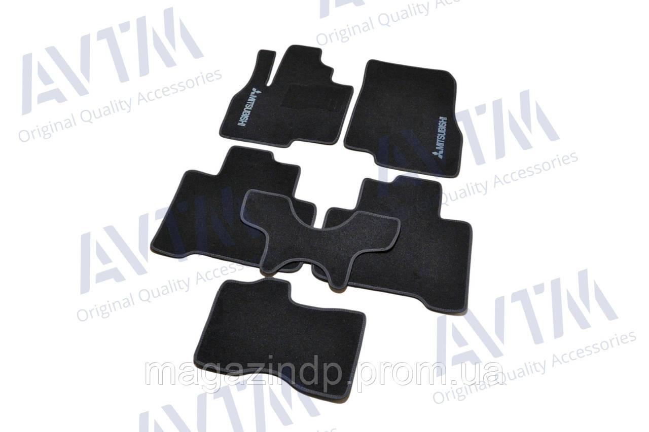 Коврики в салон ворсовые для Mitsubishi is (2003-2011) /Чёрные BLCCR1389 Код товара: 3822722