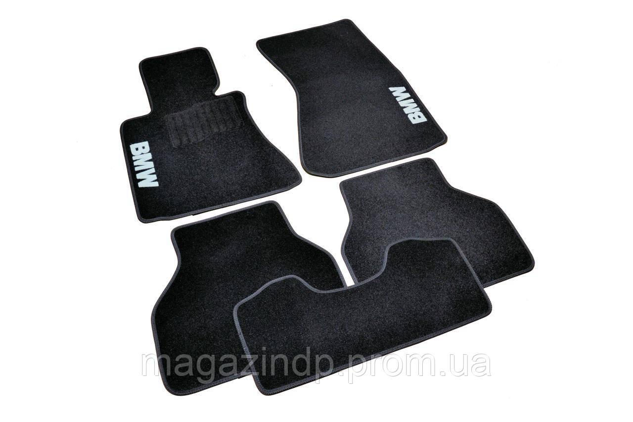 Коврики в салон ворсовые для BMW 7 (Е65) (2001-2008) /Чёрные 5шт BLCCR1050 Код товара: 3822727