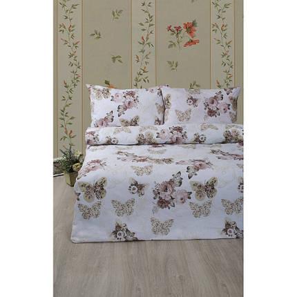 Постельное белье Lotus Ranforce - Diana бежевый семейное, фото 2