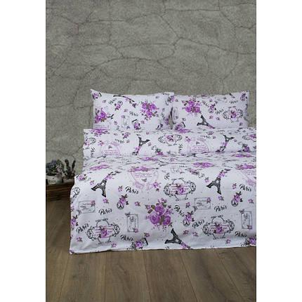 Постельное белье Lotus Ranforce - Emily розовый семейное, фото 2