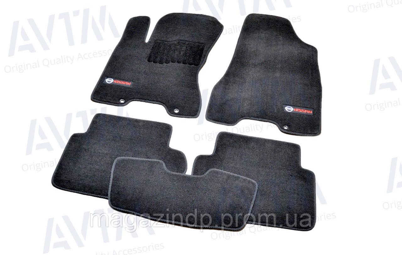 Коврики в салон ворсовые для Nissan X-Trail T31 (2007-2014) /Чёрные Premium BLCLX1433 Код товара: 3825352