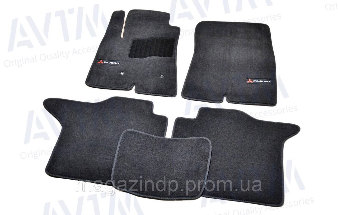 Коврики в салон ворсовые для Mitsubishi Paje IV (2006-) 5 дв. /Чёрные Premium BLCLX1400 Код товара: 3825354