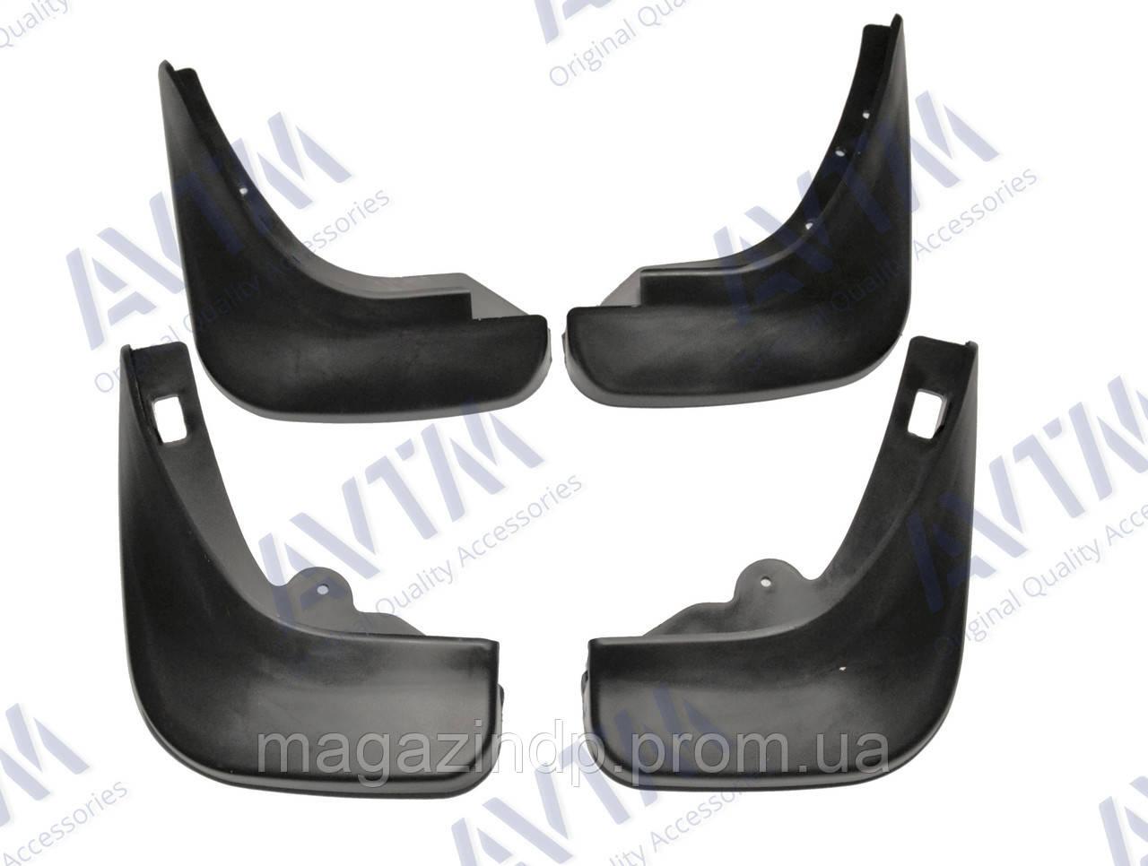 Брызговики полный комплект для Ford Focus HB 2004-2011 комплект 4шт MF.FOFO0411FR Код товара: 3827903