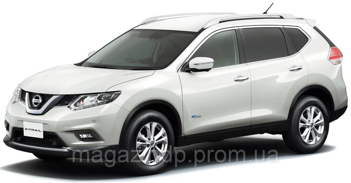 Рейлинги Nissan X-Trail 2014- пластик/клей NISXTR2014PS Код товара: 3830232