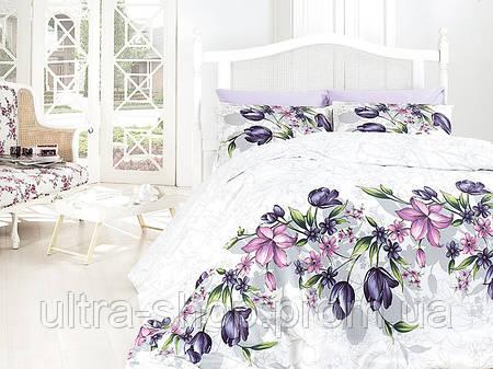 """Комплект постельного белья First Choice Ranforce """"Riella lila"""""""
