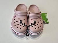 Кроксы летние Crocs Crocband розовые 37 разм., фото 1
