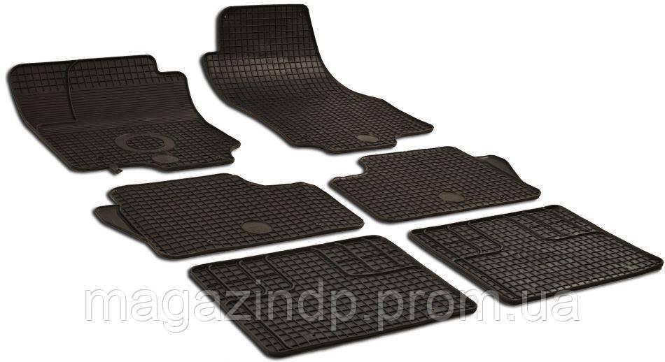 Коврики в салон для Opel Zafira B 2005- черный 6шт GZ 214628 Код товара: 4520292
