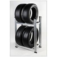 Стеллаж металический для хранения  до 4 колес