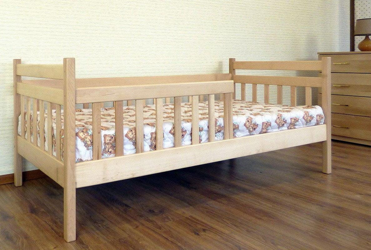Кровать одноярусная Буратино 80х190 см. Дримка
