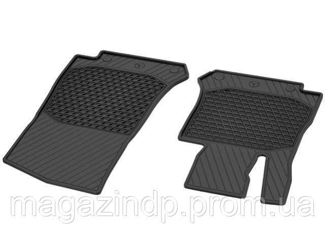 Коврики в салон для Mercedes X253 GLC 15-,резиновые передние 2 шт Код товара: 4646143