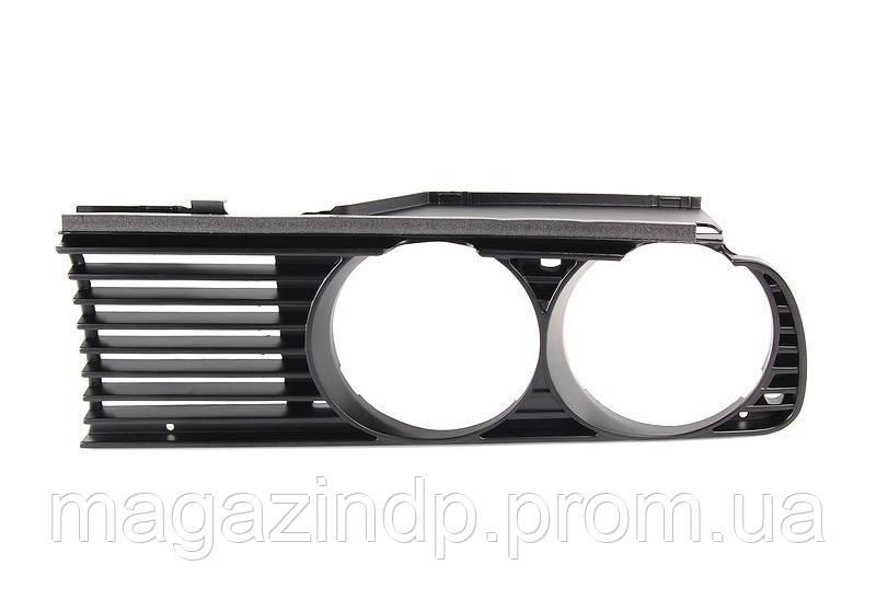 Решетка в бампер BMW 3 (e30) 87-91 левая  0054 991, 51131945886 Код товара: 4817601