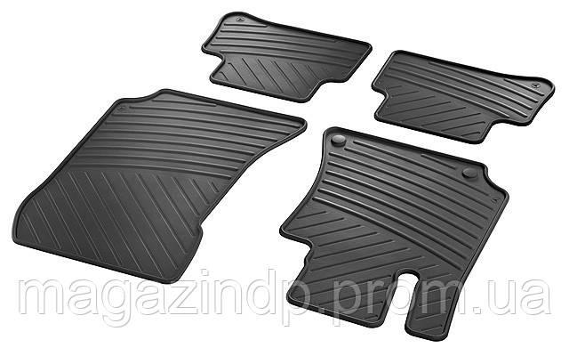 Коврики в салон для Mercedes W212 E 09-/ C218 CLS 11- (комплект-4 шт) A21268062029G33 Код товара: 4817613