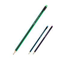 Карандаш графитный Axent 9006-A с ластиком, НВ