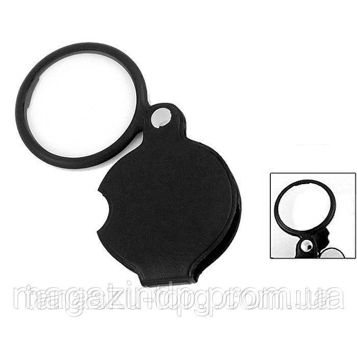 Лупа  4 кратная складная кнная, диаметр 60мм Код товара: 1255289