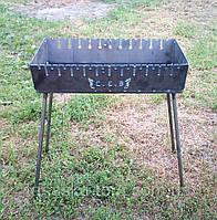 Раскладной мангал чемодан на 12 шампуров 2мм, Сев Код товара: 1255409, фото 1