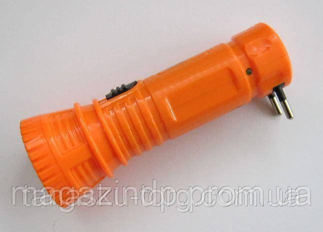Фонарь пластмассовый аккумуляторный YJ-1163 Код товара: 1255806