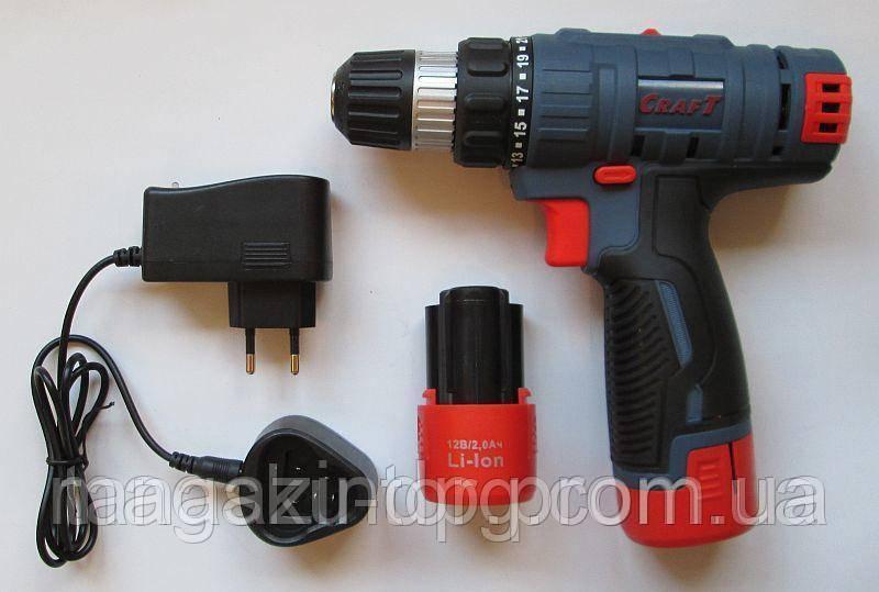 Шуруповёрт аккумуляторный  Cas-12L Код товара: 1255816