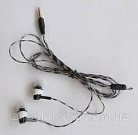 Вакуумные наушники (силиконовый кабель, цветные) Код товара: 1255840