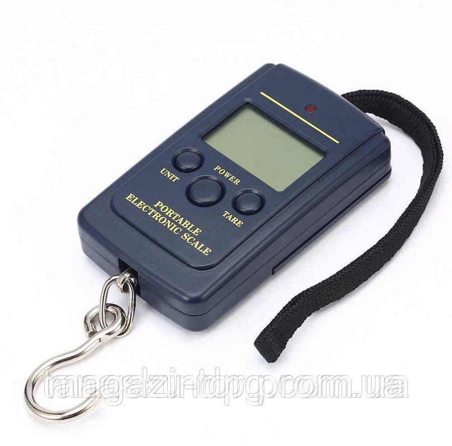 Весы электронные, кантер до 40 кг (шаг 10г) с батарейками Код товара: 1255860