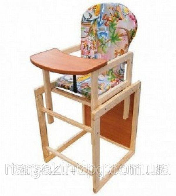 Детский деревянный стульчик стул для кормления Код товара: 1255866