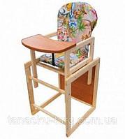 Детский деревянный стульчик стул для кормления Код товара: 1255866, фото 1