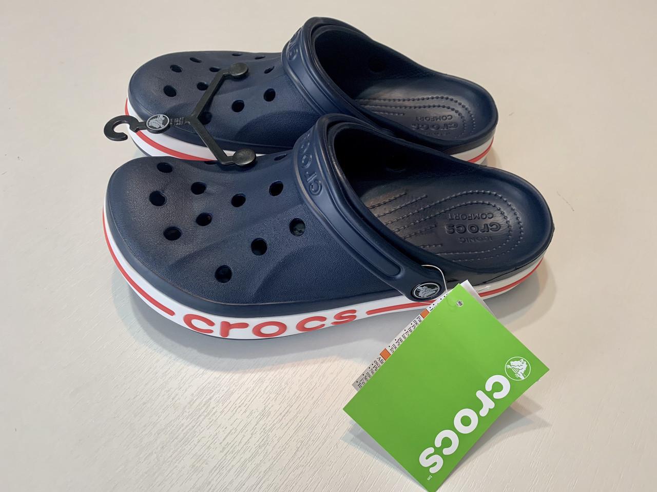 Кроксы мужские Crocs Bayaband Clog синие 44 разм.