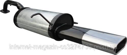 Глушитель прямоточный D51 mm Chevrolet Lacetti универсал 1.4-1.8 с 2003