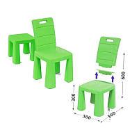 Детский стульчик-табурет (салатовый) Doloni (04690/2)