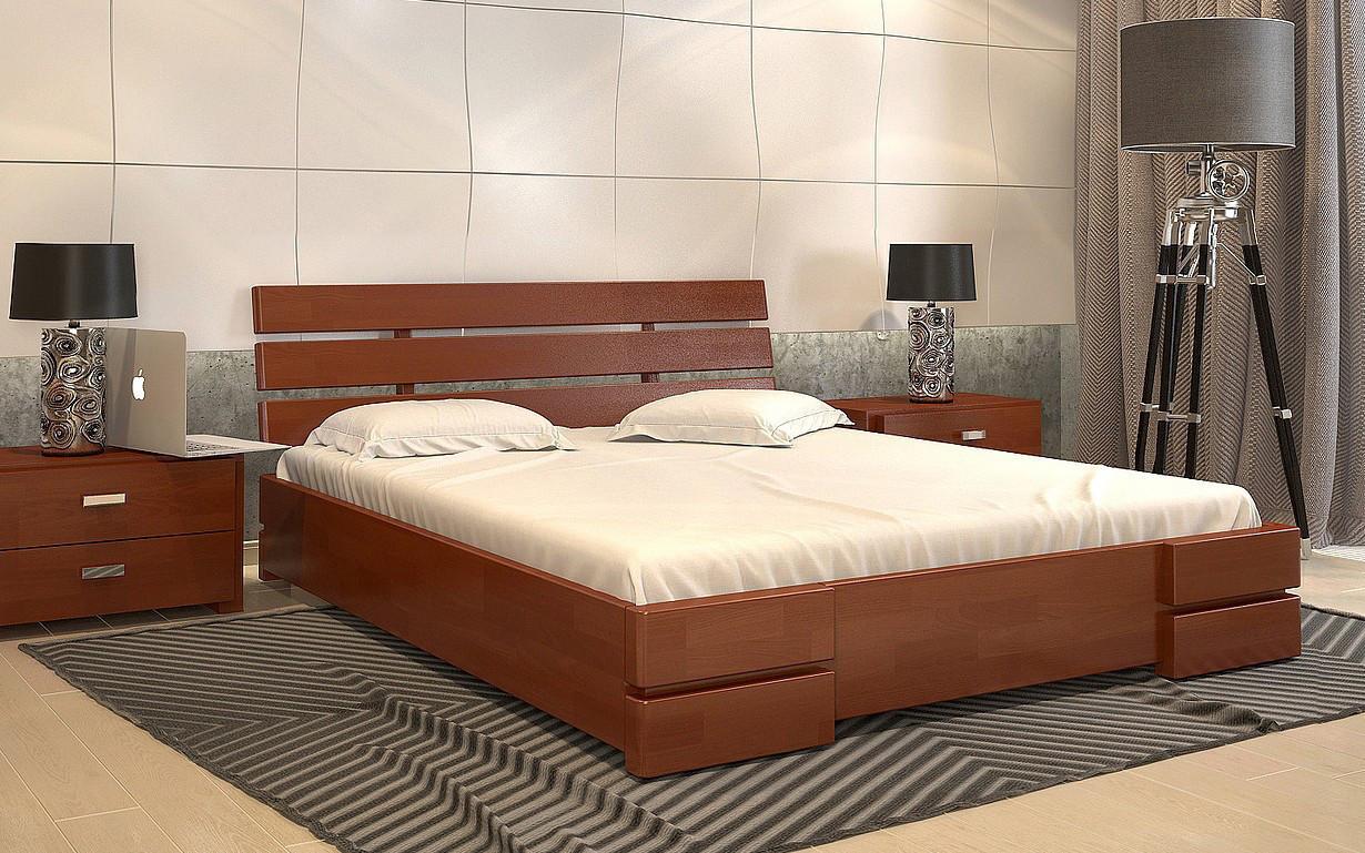 Деревянная кровать Дали Люкс с механизмом Бук 160х190 см. Arbor Drev