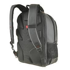 Рюкзак для ноутбука 32х48х17 Ju Xi Long 3 отделения ткань Нейлон на ПВХ основе   кс9621сер, фото 3