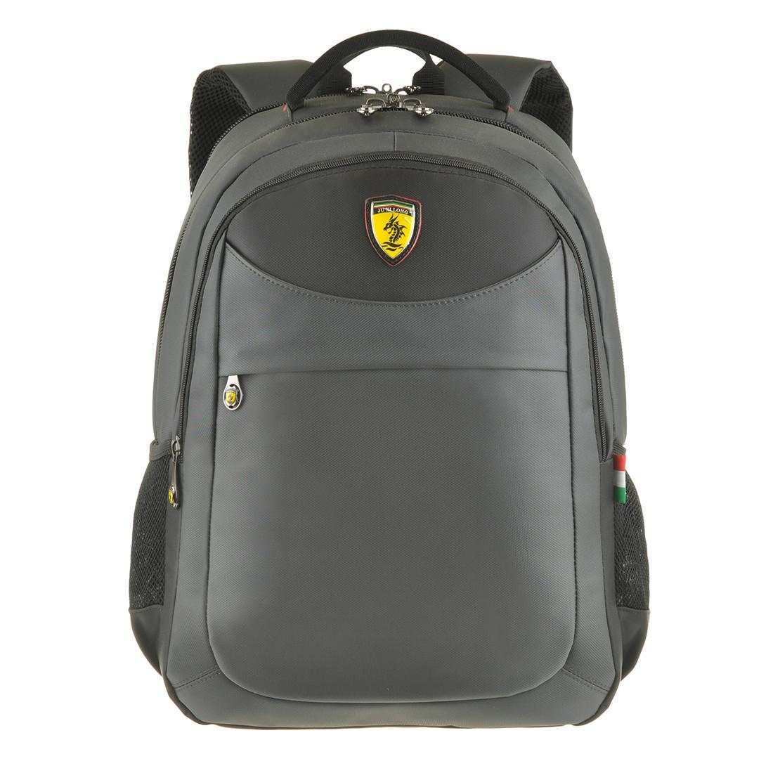 Рюкзак для ноутбука 32х48х17 Ju Xi Long 3 отделения ткань Нейлон на ПВХ основе   кс9621сер
