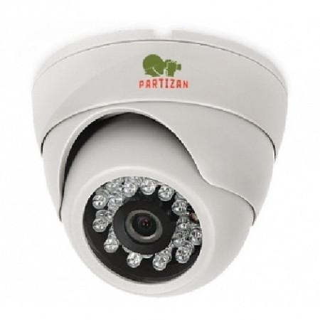 Видеокамера купольная  Partizan CDM-VF37H-IR FullHD v3.6