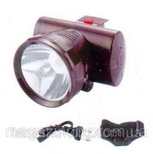 Налобный аккумуляторный фонарик на 1 светодиод, YJ-1858a Код товара: 1255973