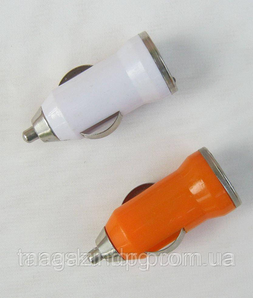 Зарядное устройство USB от прикуривателя 12 В, 1А Код товара: 1256220