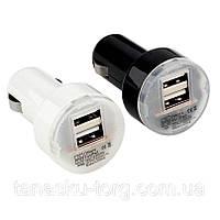 Зарядное устройство на 2 Usb порта от прикуривателя 12 В Код товара: 1256259, фото 1