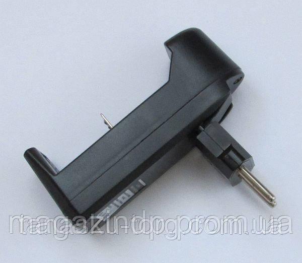 Зарядное устройство для аккумуляторов 18650 (евро) Код товара: 1256264