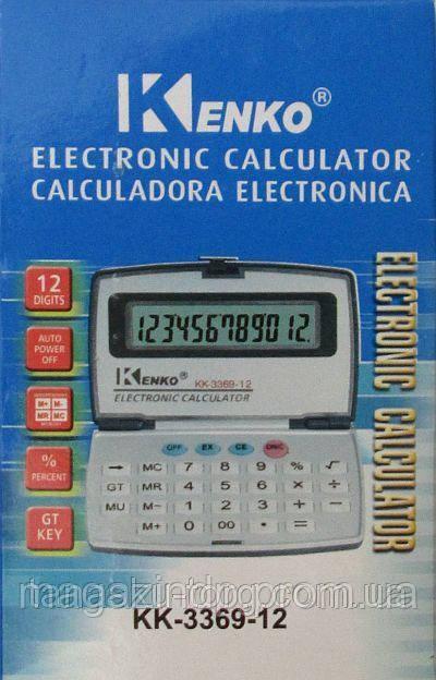 Калькулятор настольный  KK-3369-12 Код товара: 1256267