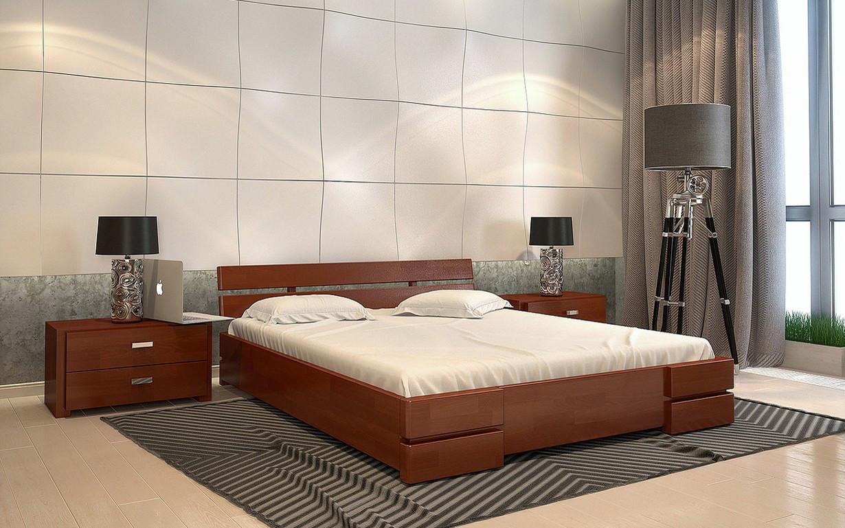 Деревянная кровать Дали Бук 120х190 см. Arbor Drev