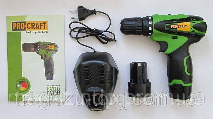 Шуруповерт аккумуляторный P  Pa12Li Код товара: 3746340