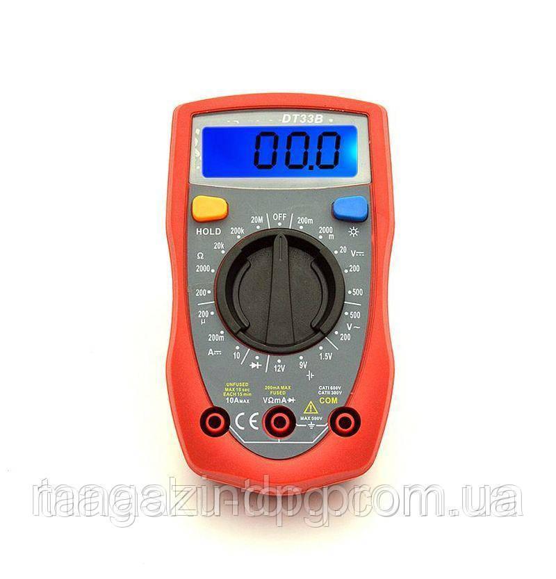 Цифровой мультиметр Dt33b Код товара: 3817617