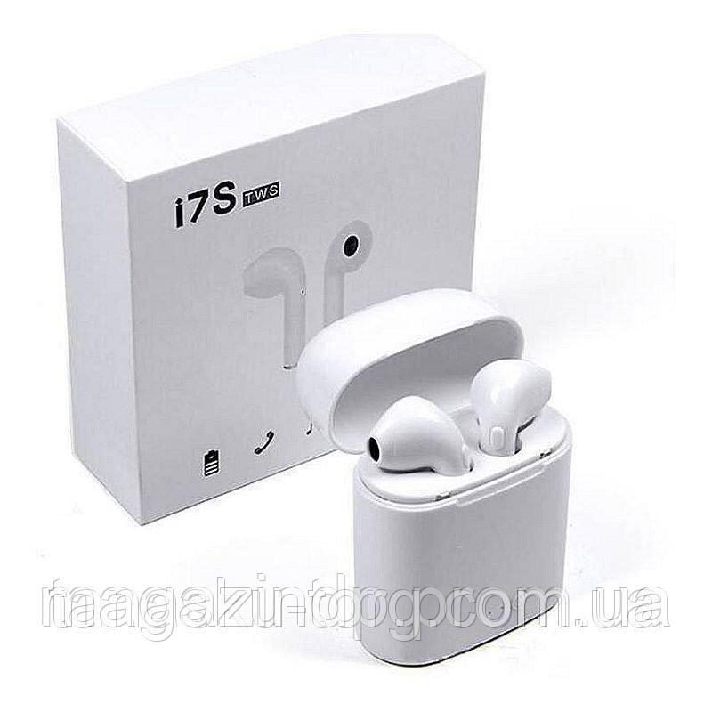 Беспроводные наушники с зарядным кейсом Tws I7s, White Код товара: 3829853
