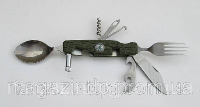 Мультитул, столовый прибор РК63 (9 предметов) Код товара: 4400371