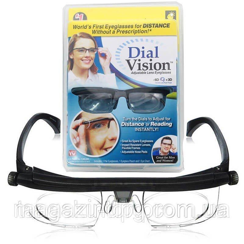 Очки с регулировкой линз Dial Vision Код товара: 4771784