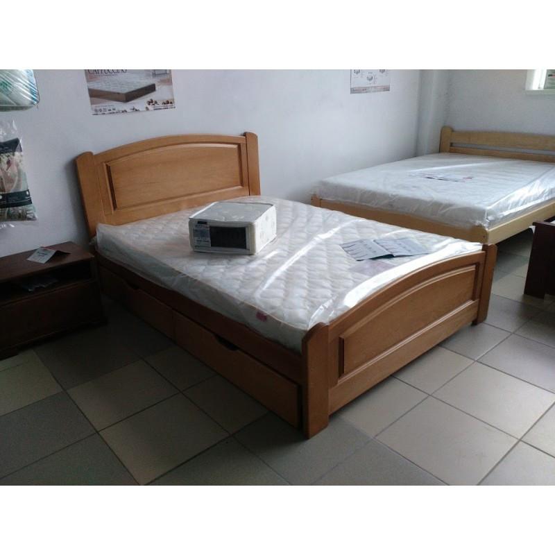Кровать Эдель из массива бука. ТМ Дримка