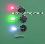 Светодиод 3V 5 мм, RGB, трехцветный,с общим АНОДОМ, фото 2